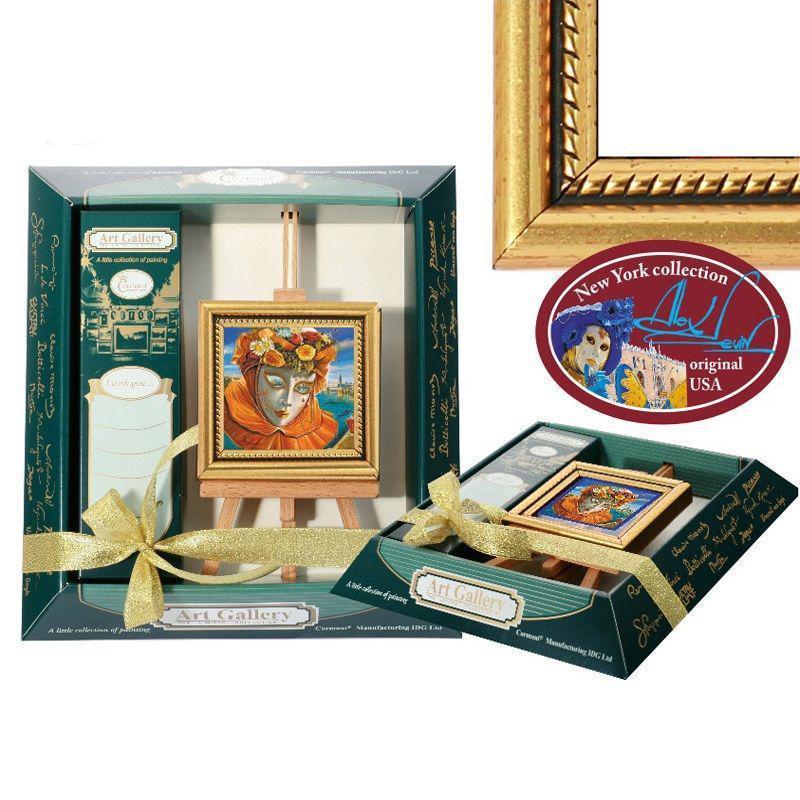 Картина мольберт «Воспоминания о лете» 9х10 см. 190-0121
