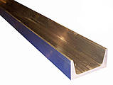 Швеллер алюминиевый 12x12, толщина стенки 2, марка алюминия АД31, АМг6, Д16, АМг5, АМг2, фото 3