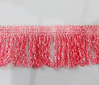 Бахрома  простая  6 см  розовый (темный)