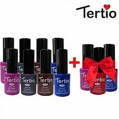 Набор гель-лаков Tertio 8+3 в подарок