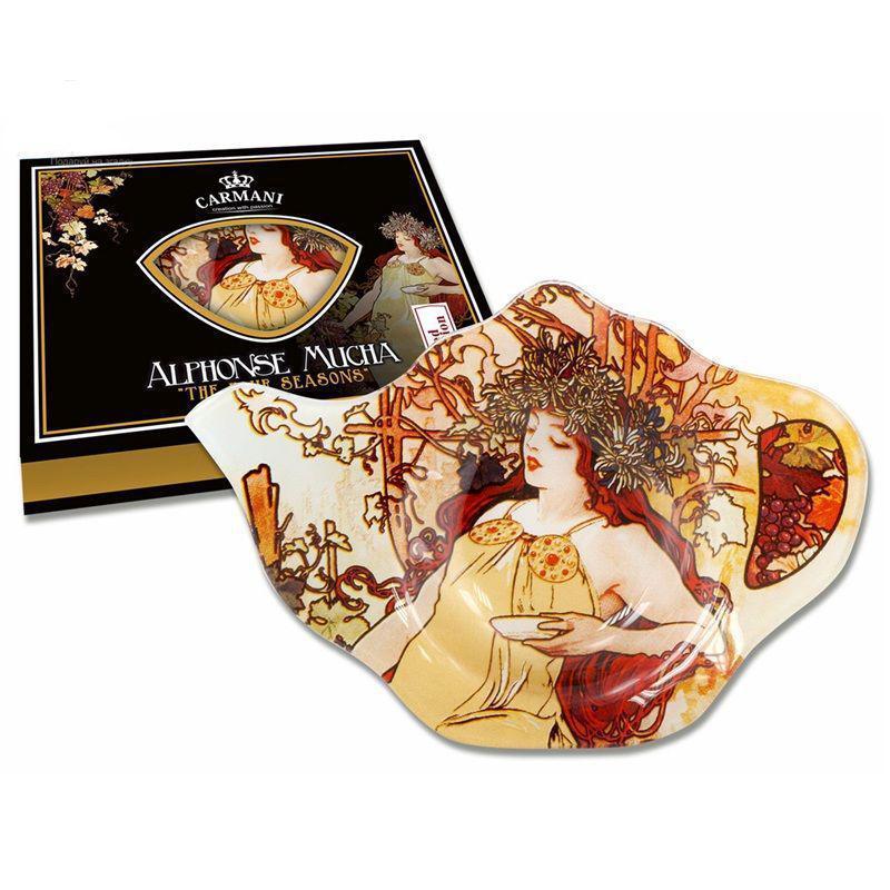 Подставка под чайный пакетик А. Муха «Осень» 198-9203