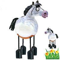 Фигура декор для сада «Лошадка» h-19 см. GKR-17w