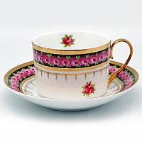 Чашка с блюдцем «Цветочный сад», 200 мл. 410-1261