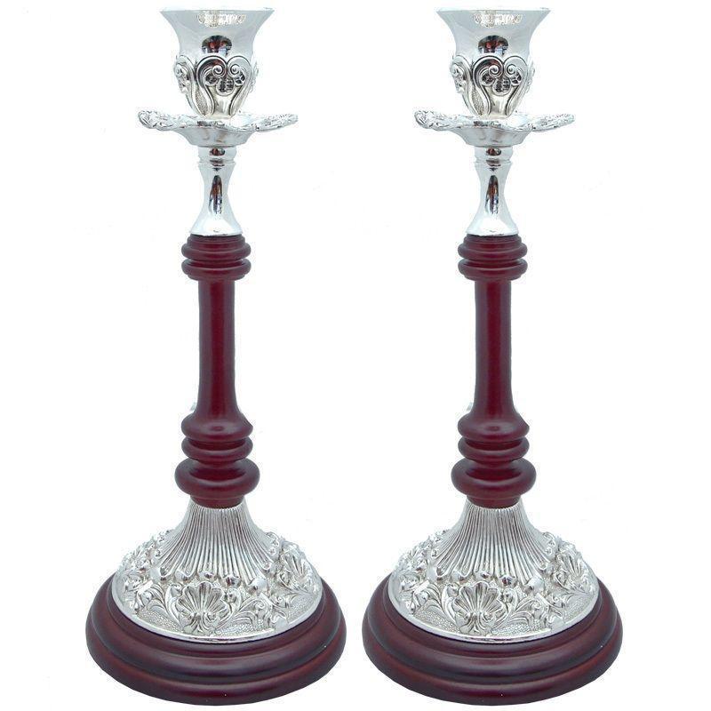Подсвечник на 1 свечу (кпл.2 шт.) h-28 см (466-1267)