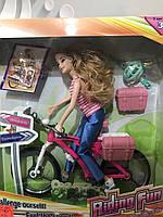 Барби на велосипеде 605