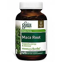 Мака, Gaia Herbs, 1000 мг, 60 капсул