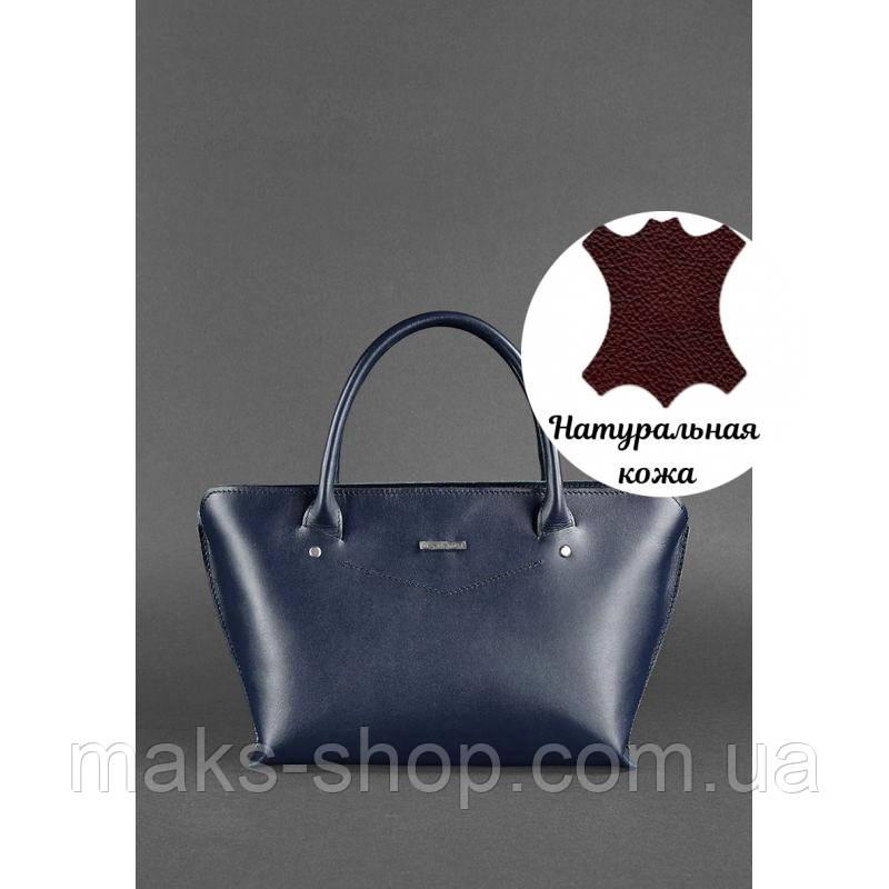 e30642061779 Женская брендовая сумка из натуральной кожи Midi Темно-синий, цена 3 360  грн., купить в Киеве — Prom.ua (ID#822478161)