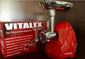 Мясорубка электрическая VITALEX VL-5302 красная, фото 2