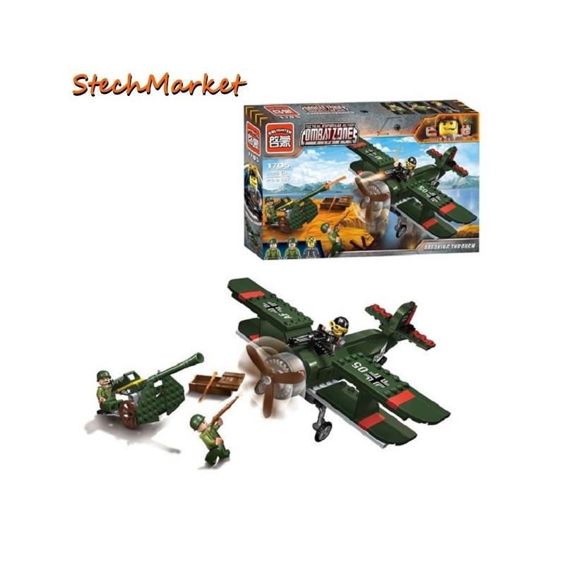 """Конструктор """"Военное сражение"""" Brick 1705 187 деталей"""