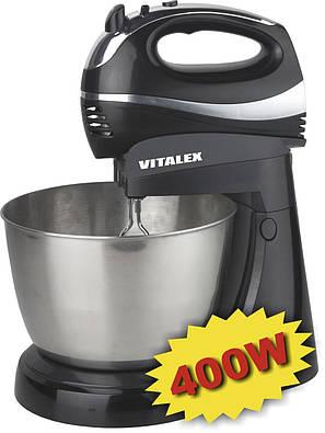 Миксер электрический с чашей Vitalex VT-5014 CG14 PR5, фото 2