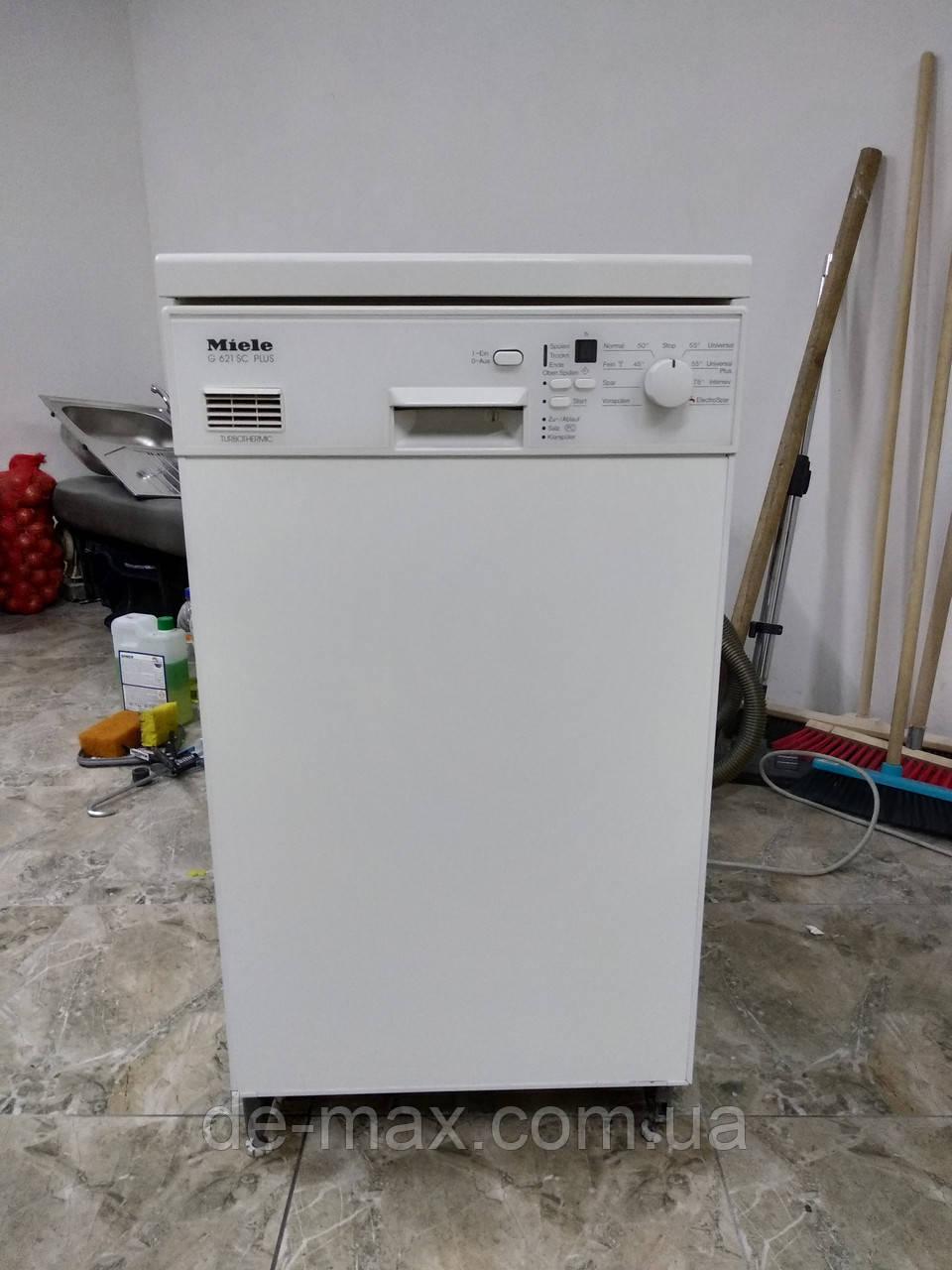 Встраиваемая посудомойка узкая 45см на три лотка Miele G 621 SC Plus