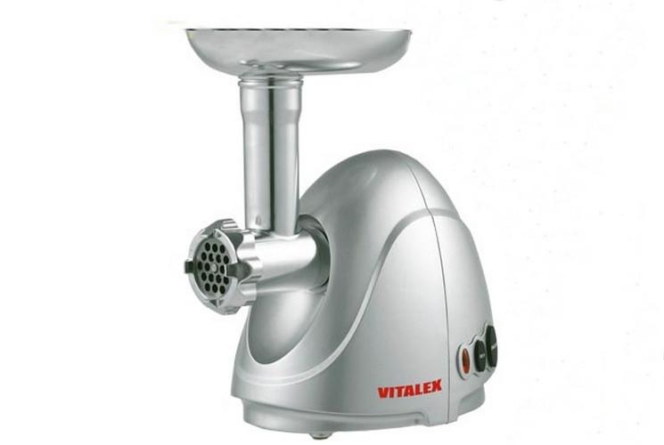 Мясорубка электрическая VITALEX VL-5302 серебристая