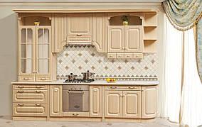 Кухня Валенсия 3,6 м Клен/Патина (Світ Меблів ТМ)