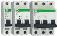 Автоматический выключатель АВ2000 2Р C 1A 6кА