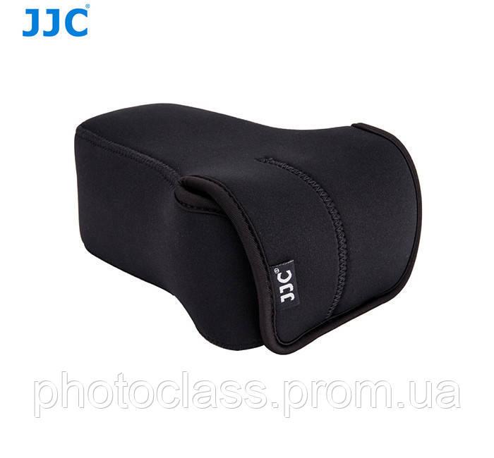 Защитный футляр - чехол JJC OC-F3BK для камер Olympus E-PL8, E-M5 II, E-M10 II с объективом 12-40mm