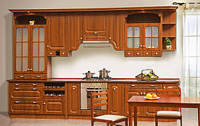 Кухня Валенсия 3,6 м Орех (Світ Меблів ТМ)