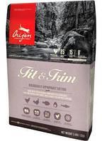 Корм ORIJEN (Ориджен)  FIT&TRIM CAT 0.34 kg для похудения кошек.