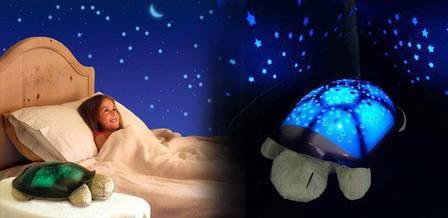 Музыкальный ночник черепаха, проектор звездного неба Распродажа CG07 PR3, фото 2