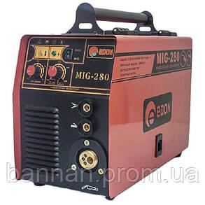 Инвертор сварочный полуавтомат Edon MIG 280, фото 2