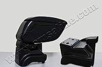 Подлокотник Opel Astra J 2010- /сдвижной,черный/
