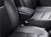 Подлокотник Chevrolet Aveo 2006-2013 /сдвижной,черный/