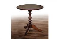 Стол кофейный из массива дерева- Одисей (орех)