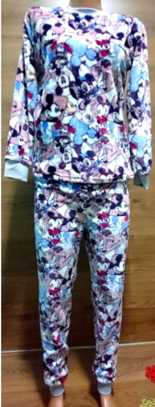 Красивая пижама для девочки подростка с рисунком Микки Маус 140-160 р, детские пижамы оптом от производителя