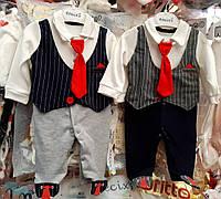Костюмы для мальчика 3-6-9 месяцев.