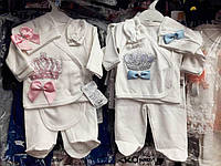 Костюм для новорожденных на выписку 5 предметов