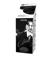 Краска уход для волос ESTEL Celebrity 1/0 Черный
