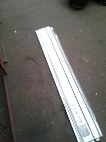 Низ обшивки боковины левый фольцваген транспортер т4