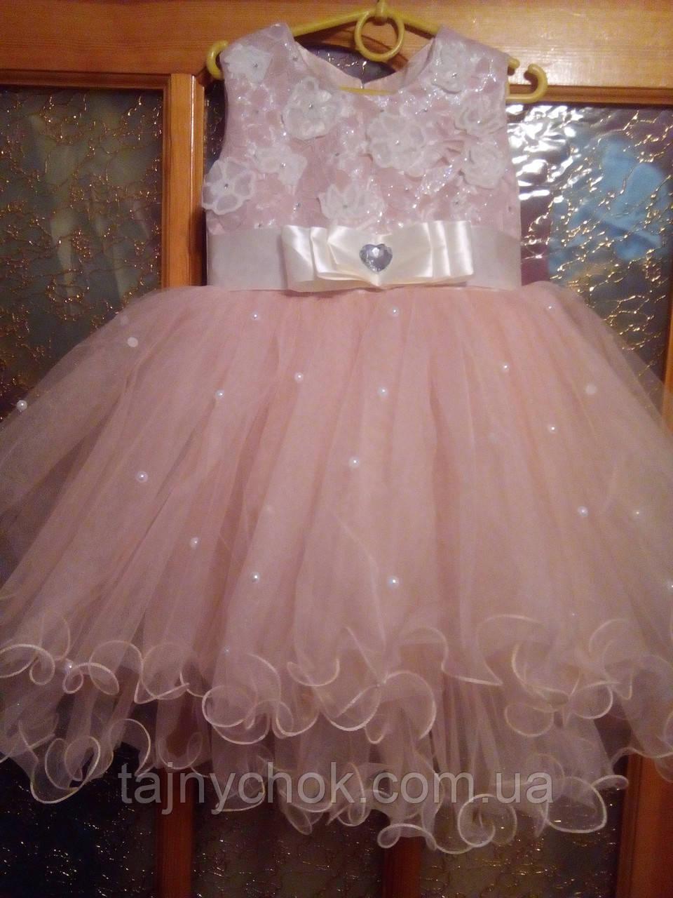 Пышное платье для девочек