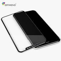 """Защитное стекло Zifriend 5D Full Face (full glue) для Apple iPhone XS Max (6.5"""") Черное"""