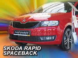 Польская HEKO заглушка зимняя в решетку радиатора SKODA RAPID / SPACEBACK 4/5D 2012->