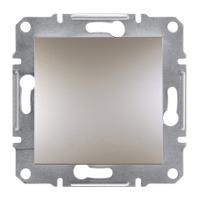 Выключатель одноклавишный Asfora Schneider (бронза) EPH0100169