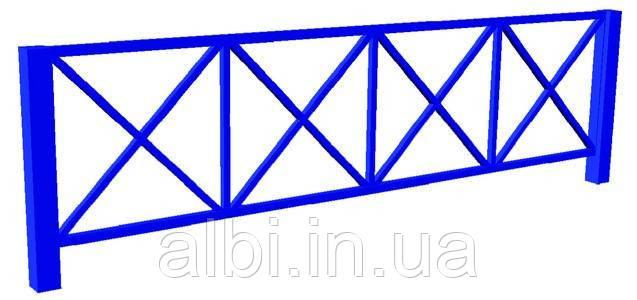 """Секция ограждения """"Орнамент"""" БК-752О"""