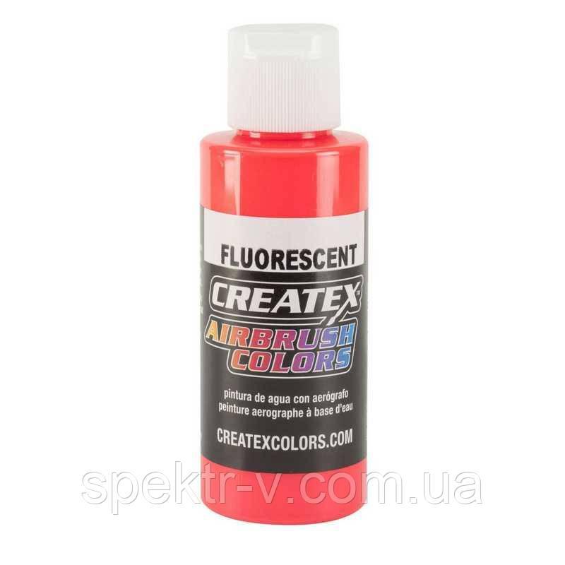 Краска для аэрографа 5408 Fluorescent Red