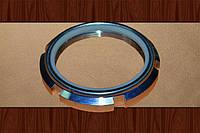 Гайка М76 DIN 981 оцинкованная, фото 1