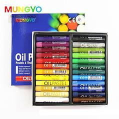 Пастель масляная MUNGYO профессиональная MOP-24 24 цветов