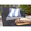 Садовая мебель Allibert Corona set графит, фото 2