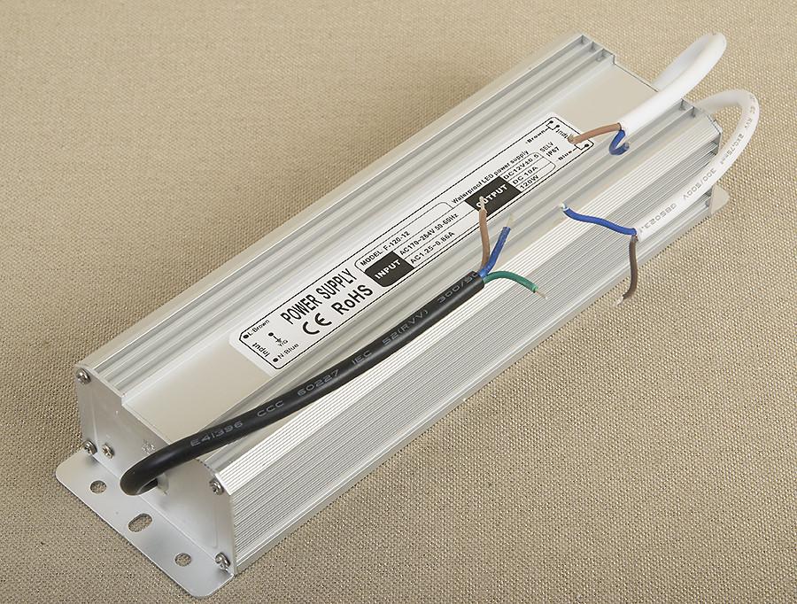 Dilux - Блок питания герметичный 120Вт, 12В, 10А, IP67. Premium класс, гарантия 2года.