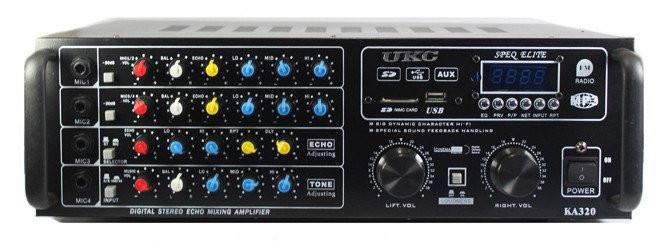 Підсилювач AMP KA320, підсилювач потужності звуку, компактний підсилювач звуку.Розпродаж