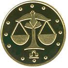 Монета Украины 2 грн. 2008 г. Весы