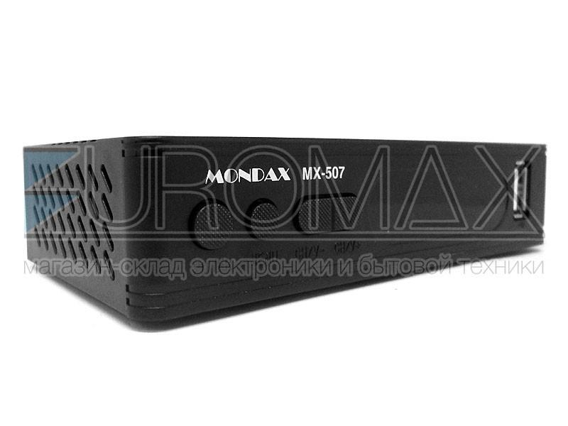 Цифровой эфирный приемник T2 MONDAX DVB-T2 IPTV/YouTube/WiFi/MP4 T2-MX-507