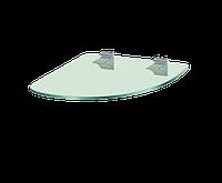 Кутова скляна полиця PL21 URC(350х350)