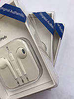 Наушники EarPods для iPhone 5, 5s, se, 6, 6s, 6 plus, 6s plus, (реплика)
