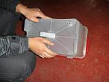 Бак для напування курей бройлерів перепелів кроликів для ніпельних поїлок. Ємність для ніпельного напування, фото 3