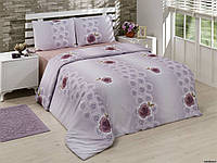 """Постельное белье Duccio """"Arnica purple"""" Микросатин (евро)"""
