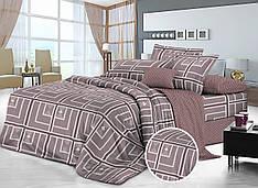 Полуторный комплект постельного белья 150 220 сатин (10890) TM КРИСПОЛ  Украина e0162f9739c3f