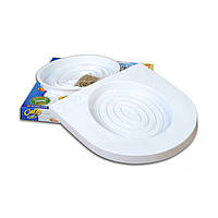 🔝 Набор для приучения кошек к туалету CitiKitty Cat Toilet Training Kit - накладки на унитаз | 🎁%🚚, фото 1
